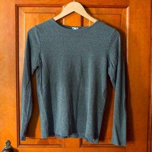Old Navy Gray Long Sleeved Shirt